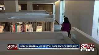 Library program helps people get back on their feet