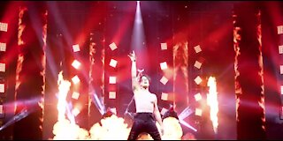 Criss Angel returns to stage in Las Vegas