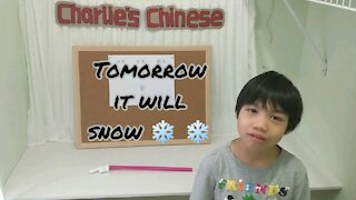 Charlie's Chinese Lesson 5: Yesterday, Today, Tomorrow
