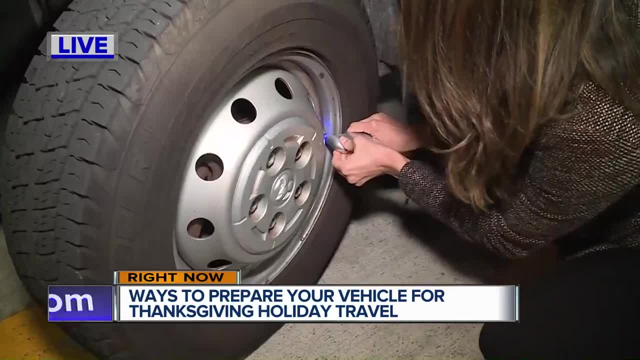 Prepare your vehicle for holiday travel