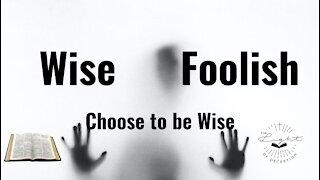 Wise Choices vs Foolish Choices