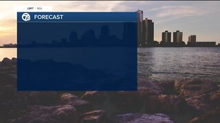 Cooler and drier weekend
