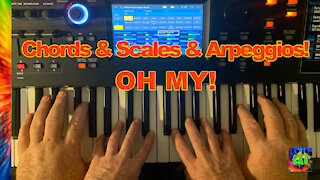 Lesson 3 Chromatic Scales, Chords and arpeggios