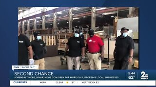 """Second Chance says """"We're Open Baltimore!"""""""