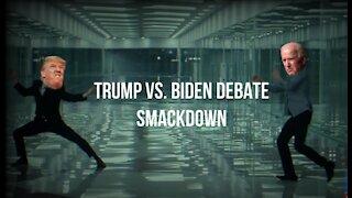 Trump Versus Biden Debate Smackdown
