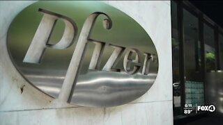 Pfizer had begun testing its booster shot effectiveness