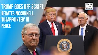 Trump berates McConnell, Pence in speech to Republican donors: Reports