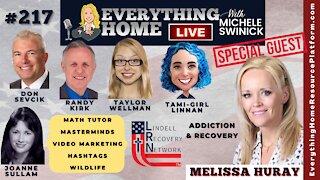 217: Lindell Recovery Network + Math Tutor, Masterminds, Make Videos, Hashtags, Wildlife, Addiction