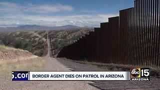 U.S. Border agent dies on patrol near Arizona-Mexico border