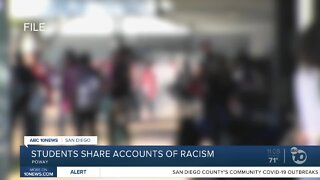 Students share accounts of racism