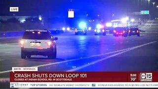 Deadly wrong-way crash shuts down Loop 101 in Scottsdale