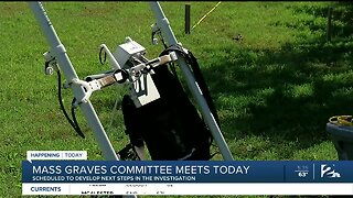 Mass graves committee meets today