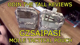Gzsaipasi Molle Tactical Pouch Review