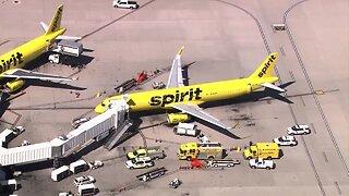 Fumes on Spirit flight