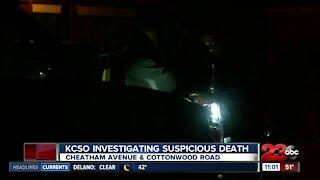 KCSO suspicious death
