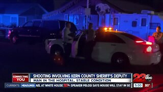 Shooting involving Kern County Sheriff's deputy