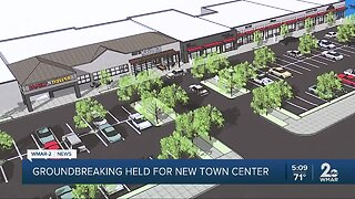 Groundbreaking held for new town center in Baltimore