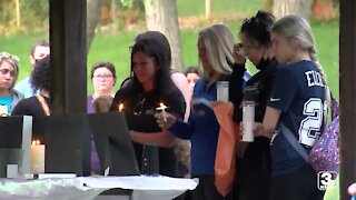 Candlelight vigil held in honor of children found dead over the weekend