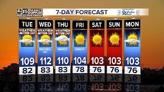 Excessive Heat Warnings in effect