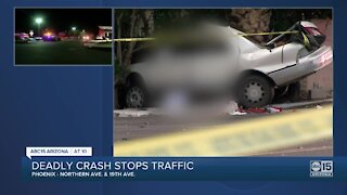 Deadly crash near 16th Lane and Northern Avenue