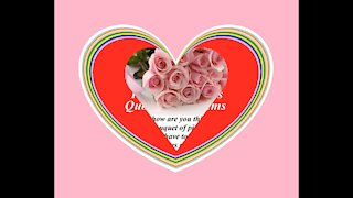 Good morning my love, brought a pink roses bouquet, love you! [Message] [Quotes and Poems]