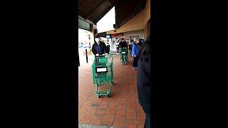 Social Distancing Shopping