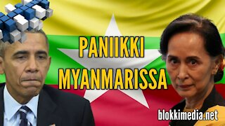 Paniikki Myanmarissa | 3.2.2021