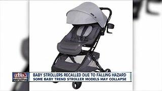 Recall Alert: Strollers recalled due to falling hazard