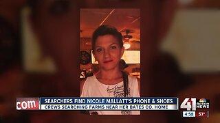 Items belonging to missing woman Nicole Mallatt recovered
