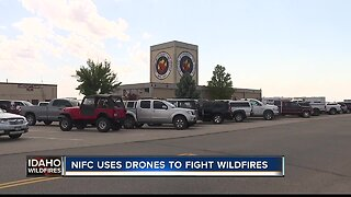 NIFC uses drones to help fight wildfires