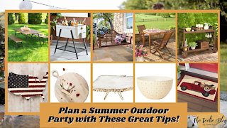 The Teelie Blog | Plan a Summer Outdoor Party with These Great Tips! | Teelie Turner