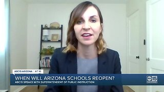 """State Superintendent """"hopeful"""" schools can reopen next school year"""