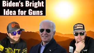 BIDEN tells Congress MORE GUN CONTROL!