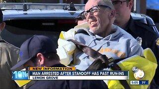 Man arrested following standoff