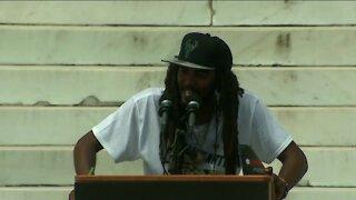 'I'm tired': Milwaukee activist Frank Nitty demands change at 2020 March on Washington