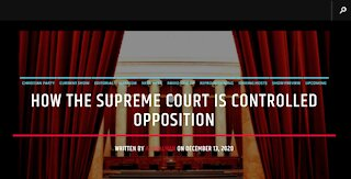 How The Supreme Court Is Controlled Opposition
