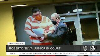 Roberto Silva Jr. in court