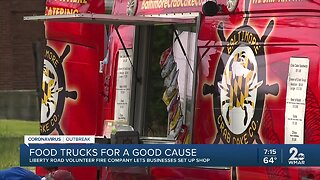 Food trucks for a good cause: Liberty Road Volunteer Fire Company lets businesses set up shop