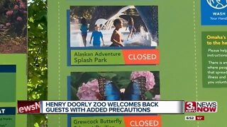 Henry Doorly Zoo welcomes back guests with added precautions