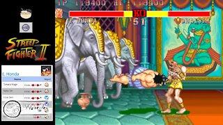 (MAME) Street Fighter 2 - 02 - E Honda