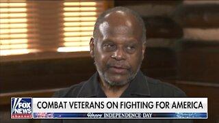 Black Army Veteran Celebrates America