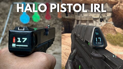 HALO Pistol IRL! The RadeTec Glock Smart Slide!
