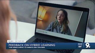 TUSD surveys parents, teachers for input about hybrid learning