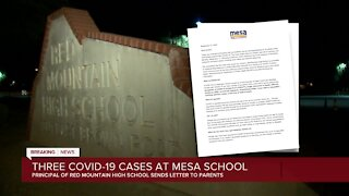 Three COVID-19 cases at Mesa school