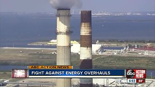 Residents, groups rally against TECO for clean energy