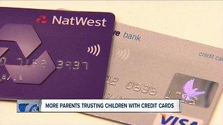 Should kids have credit cards?