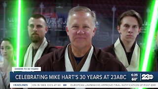 Celebrating Mike Hart after 30 years at 23ABC