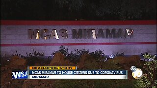 MCAS Miramar picked as possible coronavirus quarantine location