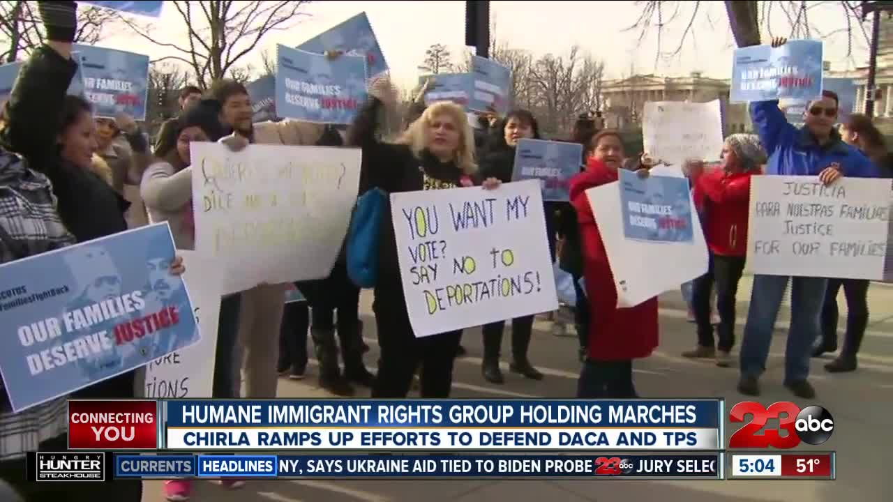 Humane Immigrant Rights Group Holding Marches