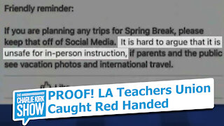 PROOF! Teachers Unions are the problem!